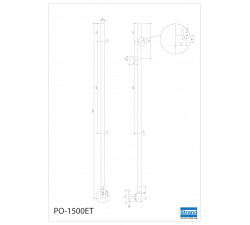Handdukstork PO-1500ET
