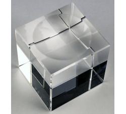 Kristallkula med fot 100 klar