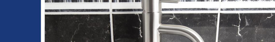 Tvättställsblandare i rostfritt från Strand Stainless